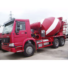 China 6X4 10 cubic meters concrete mixer truck