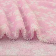 China 100% poly printed coral fleece fabric for winter pajamas