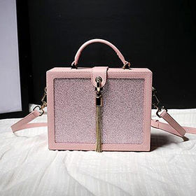China Fashion Box-shaped Handbag