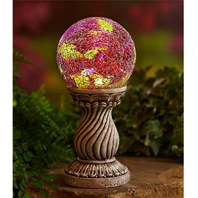 China Mosaic Solar Ball Column for home decoration