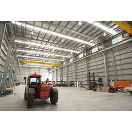 China Steel structure fabricated warehouse/warehouse design manufacturers