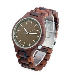 China Mahogany Wooden Watch