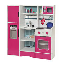 China Wooden Red Play Kitchen