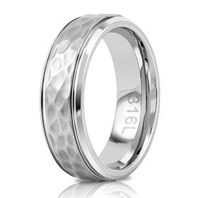 China Men & women 316l stainless steel rings