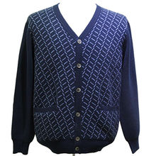 High quality, men's cashmere cardigans from Inner Mongolia Shandan Cashmere Products Co.Ltd