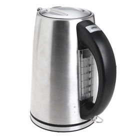 China Stainless steel 304 electric kettle with 1.7L capacity