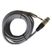 Microphone Cable, XLR Female and 6.35, 1-25m from Changzhou Sun-Rise Electronic Co.Ltd
