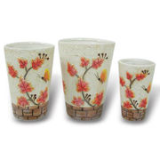 China Vases, Made of Ceramic, Customized Designs are Welcome