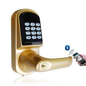 China Bluetooth password phone unlock smart door lock