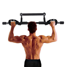 China Multi-grip Workout Chin-Up/Pull-Up Bar, Heavy-duty Doorway Trainer for Home/Office/Gym Up to 330lbs