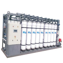 China Waste Water Treatment Plant Machinery Equipment, Pressurized Vessel PVC Ultrafiltration Membrane