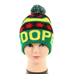 China Winter acrylic knitted hat