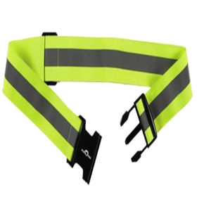 Hi-Vis Safety Belt 100% Polyester Elastic Strip/Knitting/Mesh-belt from Zhejiang Yinguang Reflecting Material Manufacturing Co. Ltd