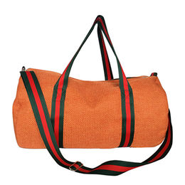 China Duffel bags made of linen, any size and material are available