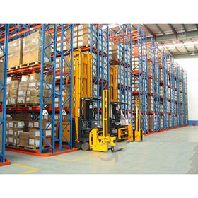 China Customized Heavy Duty Steel Selective Pallet Storage Racking System Solution with CE Certificate