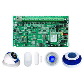 China TCP/IP/GSM/GPRS/Network Alarm with iOS Android APP, Web Remote Control
