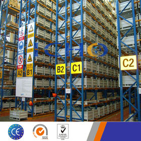 China Competitive Heavy Duty Steel Selective Pallet Rack and Shelving Solution Meet FEM Standard