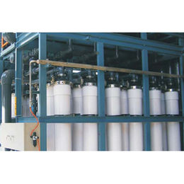 China Pressurized vessel plastic PVC ultra-filtration membrane for waste water treatment plant machinery