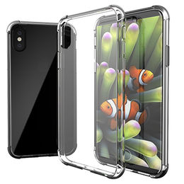 China Crystal Clear Case for iPhone, Ultra Hybrid Drop Protection with Air Cushion Technology