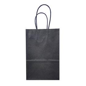 China Customized Cheap Black Kraft Paper Bags