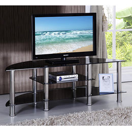 China New Design Cheap Modern Stainless Steel Metal Gloss TV Stand