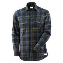 China Men's work wear long sleeve cotton shirts