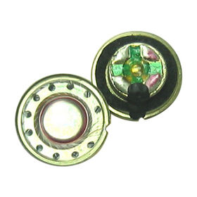 15mm Neodymium Mylar Speaker with32Ω Impedance from Wealthland (Audio) Limited