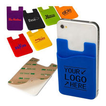 Wholesale Silicone cell phone credit card holder, Silicone cell phone credit card holder Wholesalers