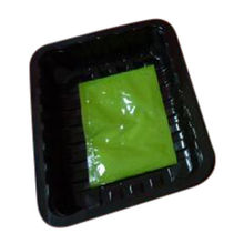 China Plastic containers in PP or PET material with absorbent pads