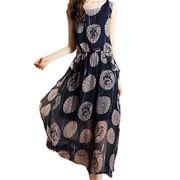 China Women's customized 100% silk dress