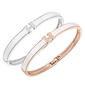 China Female Fashion Rose Gold Color Bracelet for Women