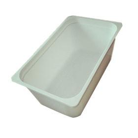 China 3 Litre Rectangular Ice Cream tubs / Food storage