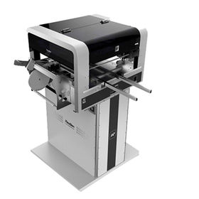 China SMD/SMT Machine with Two CCD cameras, Online Automatic Rails, Four High Precision Mozzles