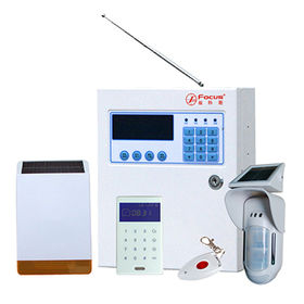 China Wireless GSM Home Alarm System in commercial use and iOS/Android App