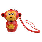china waterproof mp3 player monkey shape