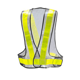 LED Safety Vest Hi-vis 100% Polyester Tricot/Knitting from Zhejiang Yinguang Reflecting Material Manufacturing Co. Ltd