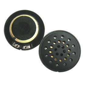 40mm Mylar Speaker with 32 Ω Impedance from Wealthland (Audio) Limited