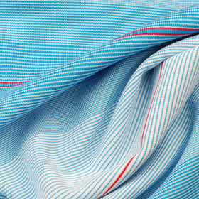 UV-Cut/Antibacterial Yarn Dye Stripe Jersey Fabric, in 91% Poly and 9% Spandex from Lee Yaw Textile Co Ltd