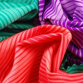 Taiwan Activewear Wicking Stripe Jersey Fabric