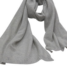 Factory supply knitted 100% cashmere scarf from Inner Mongolia Shandan Cashmere Products Co.Ltd