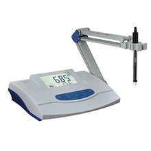 China Table top touch screen ph meter