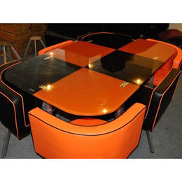 China Cheap Colorful Modern Dining Table Set, Factory Wholesale