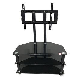 Cheap Tempered-glass TV Stand, Modern and Stylish Adjustable from Langfang Peiyao Trading Co.,Ltd