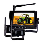 China Wireless Rear View Backup Camera Monitor Kit For Tractor Combine Grain Car