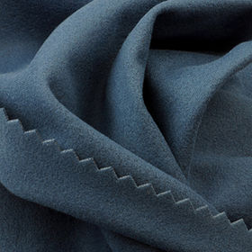 Windproof and Wicking Interlock Suede-like Fabric in 100% High Gauge Poly from Lee Yaw Textile Co Ltd