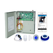 China TCP/IP/GSM/GPRS/Network Alarm with iOS Android APP, Web Remote Control, Metal Box