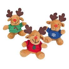 Customized Christmas Plush Reindeer from Dongguan Yi Kang Plush Toys Co., Ltd