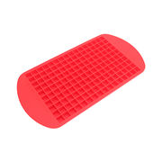 China 160 Ice Cubes Tray Frozen Mini Cube Silicone Ice Mold Mould Tray Pudding Tool ...