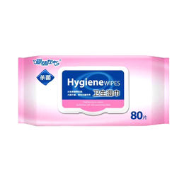 China Personal Care Private Label Antiseptic Feminine Hygiene Intimate Wet Wipes