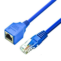 Cat6 cat7 UTP ethernet cable 8P8C RJ45 extension networking cables from Dongguan Trangjan Industrial Co.,Ltd